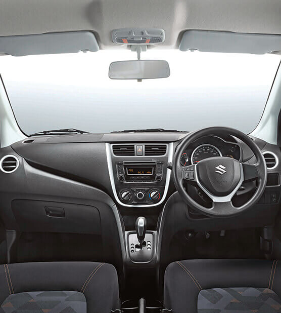 Celerio Exciting dual tone interiors