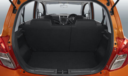 Celerio Spacious Interior