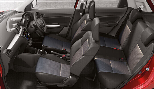 Celerio Large boot space
